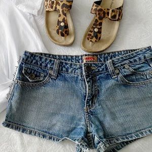 Vintage Nobo Lowrider Jean Shorts (PRICE FIRM)